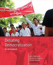 Debating Democratisation in Myanmar book cover