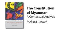 The Constitution of Myanmar book cover
